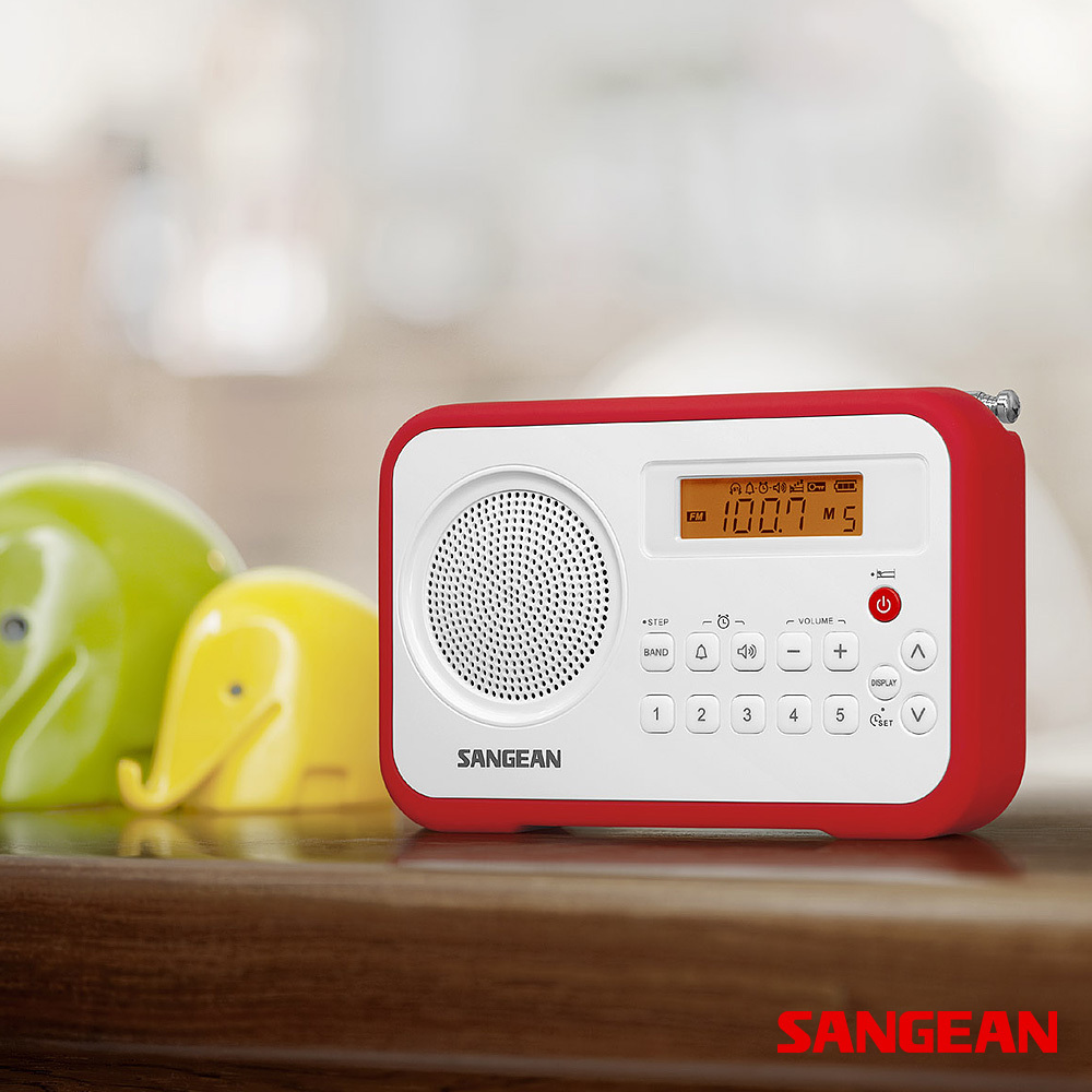FM Stereo AM Digital Tuning Portable Receiver | Sangean