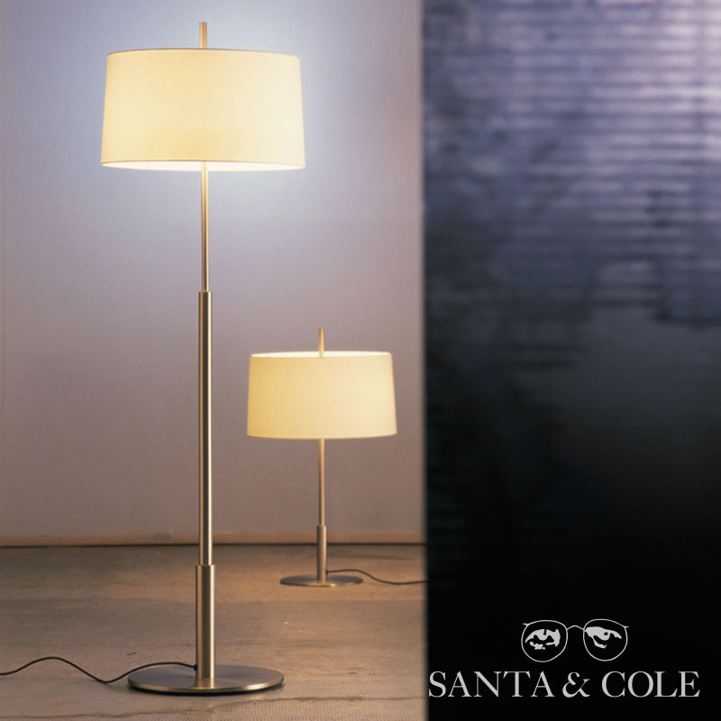 diana floor lamp santa cole metropolitandecor. Black Bedroom Furniture Sets. Home Design Ideas