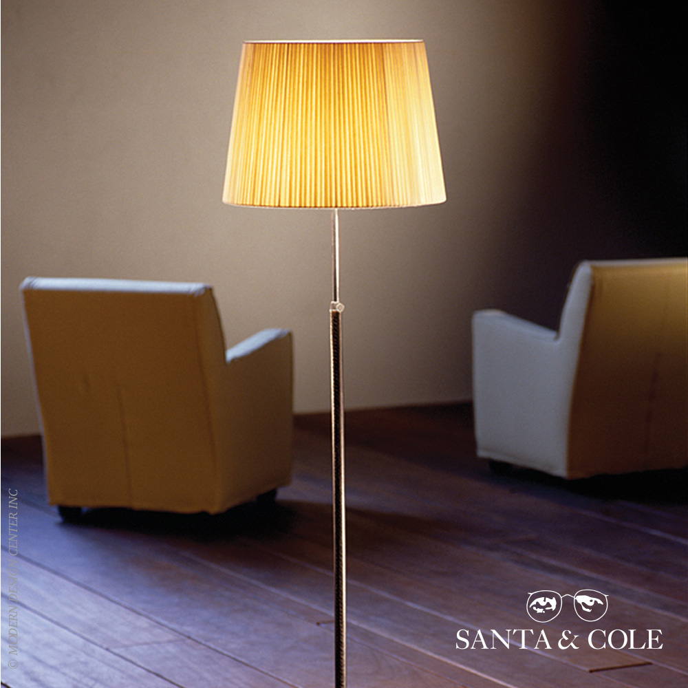 pie de salon floor lamp santa cole metropolitandecor. Black Bedroom Furniture Sets. Home Design Ideas