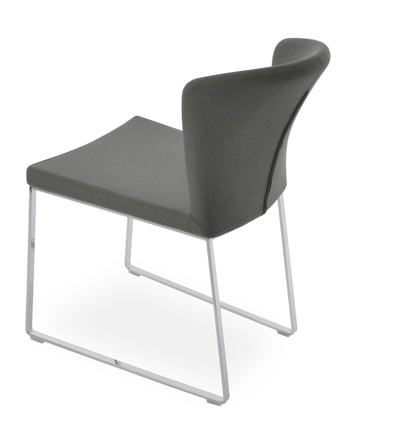capri sled dining chair sohoconcept dining chairs