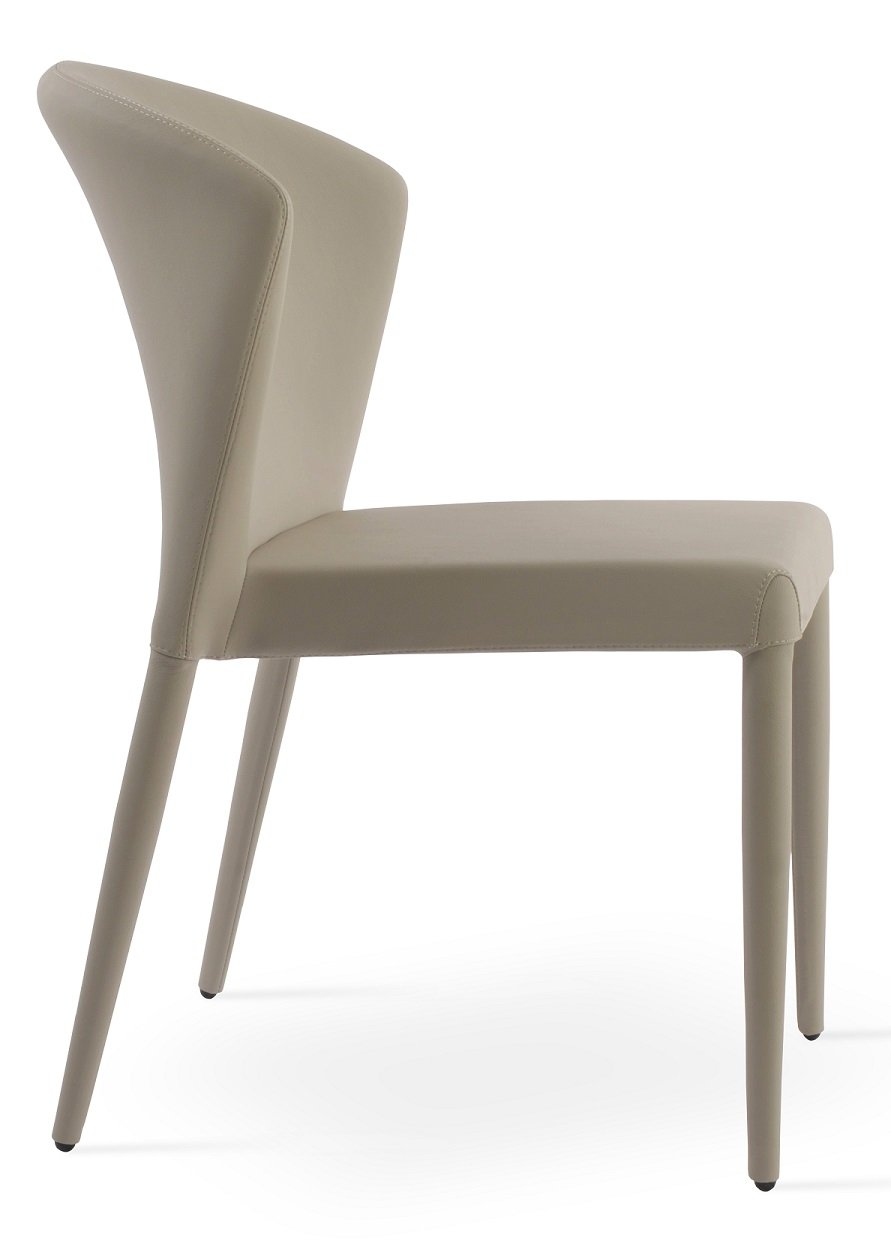 Capri stackable dining chair sohoconcept dining chairs for Stackable dining room chairs