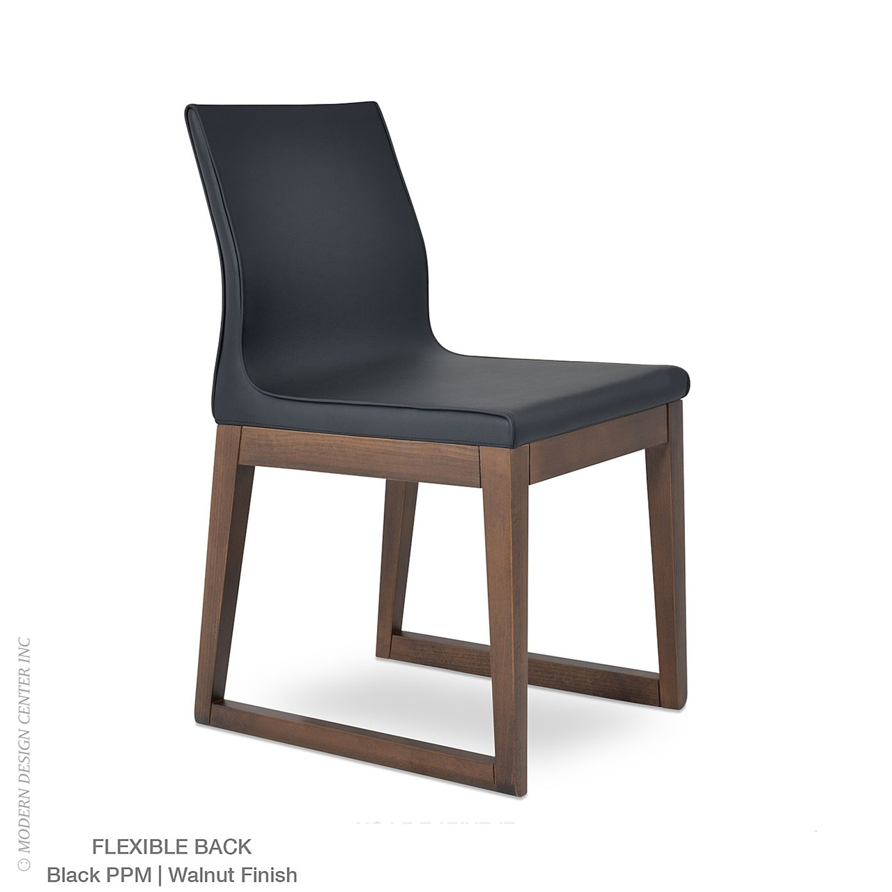 home furniture dining chairs polo sled wood dining chair