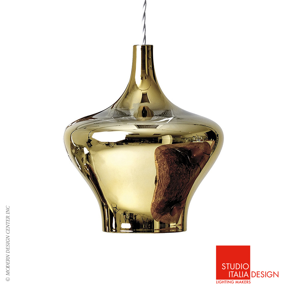 Nostalgia single suspension so studio italia design for Suspension design