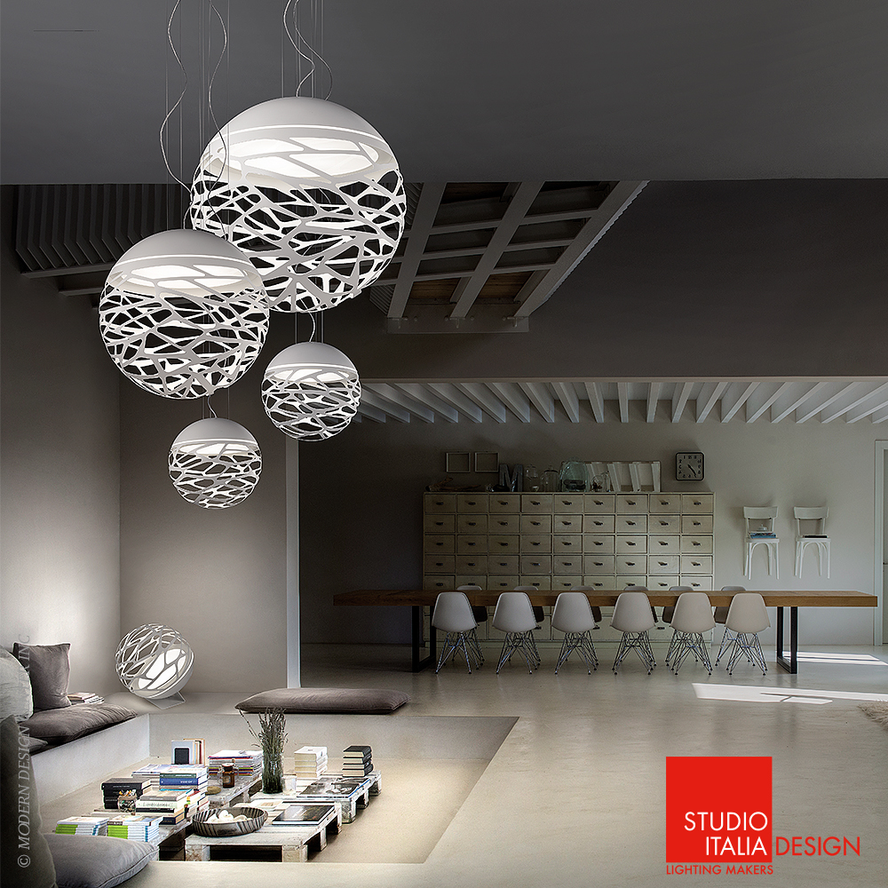 Kelly sphere suspension so studio italia design for Design italia