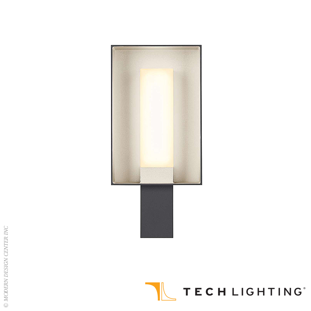 Refuge Square LED Outdoor Wall Sconce | Tech Lighting
