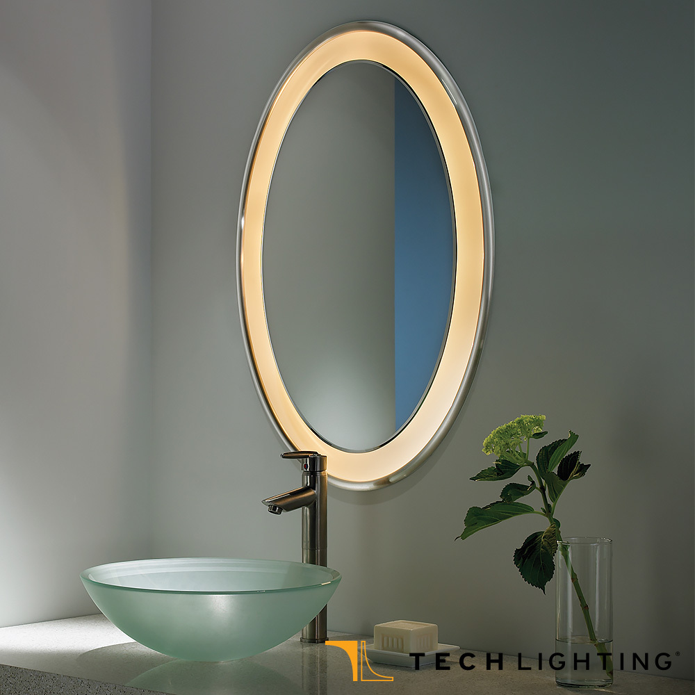 30 Cool Bathroom Lighting Over Oval Mirror eyagci.com