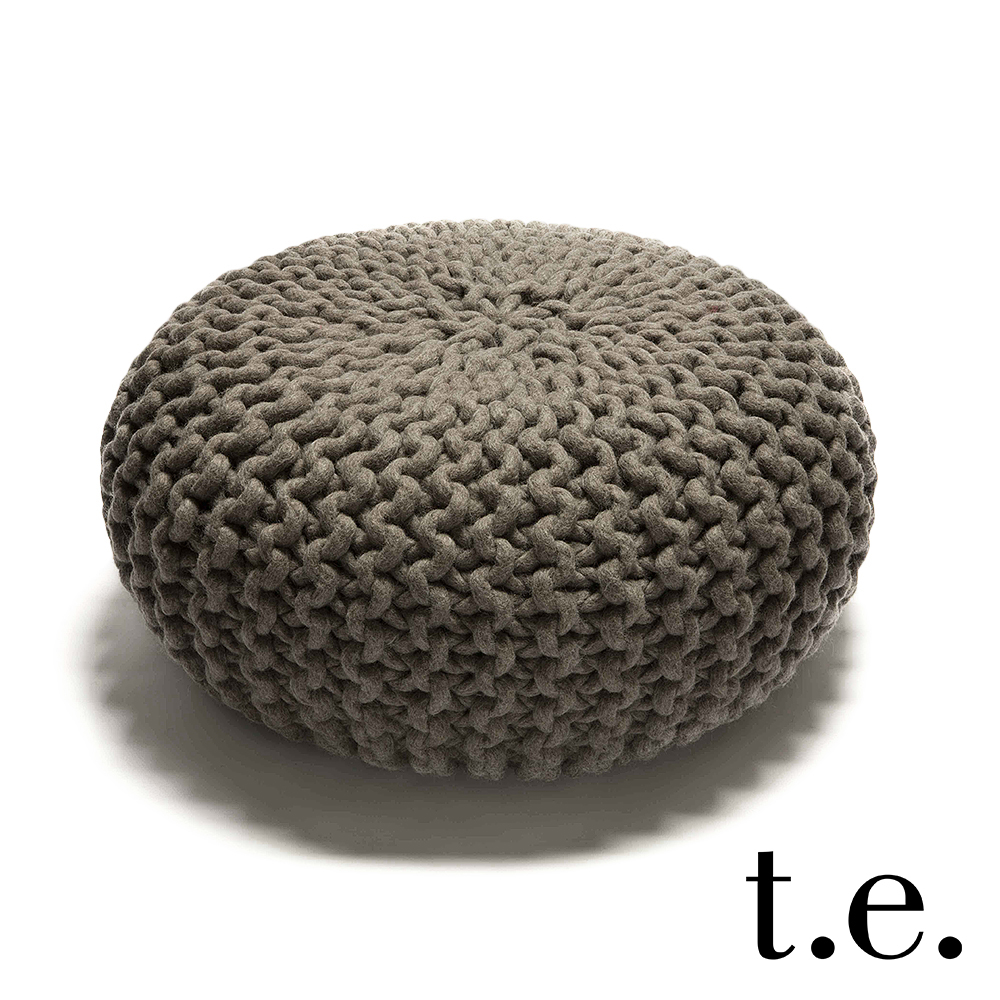 urchin pouf gray thomas eyck metropolitandecor. Black Bedroom Furniture Sets. Home Design Ideas