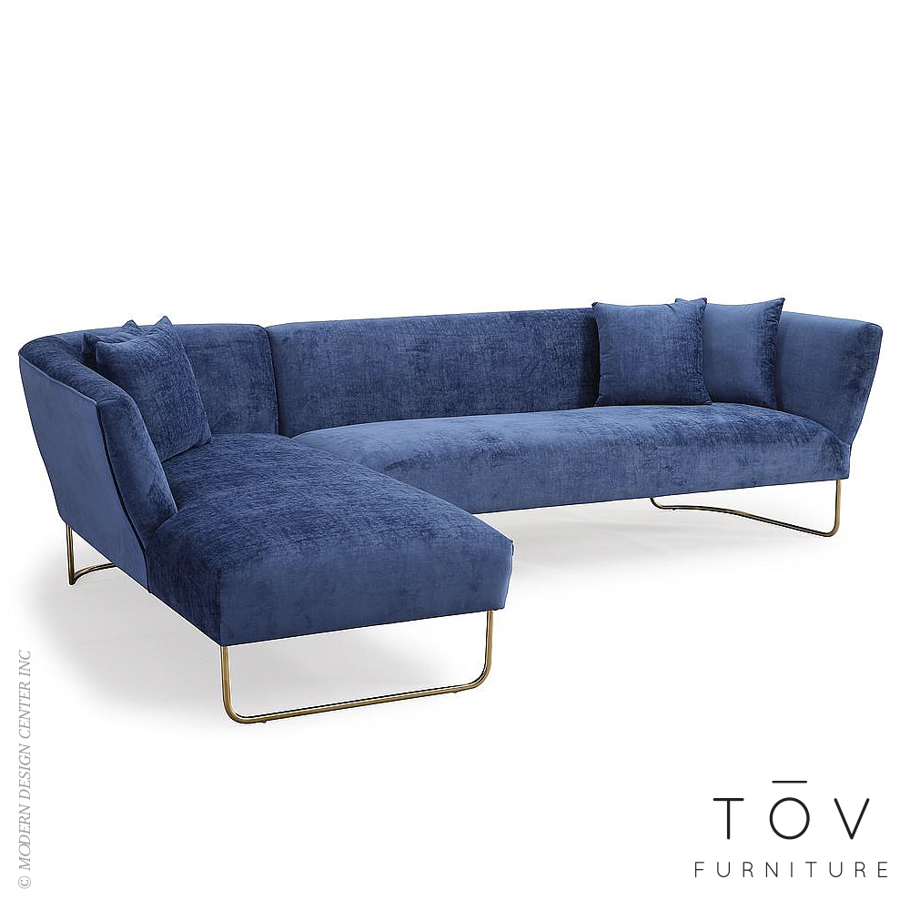 100% Original Tov Design  sc 1 st  MetropolitanDecor : laf sectional - Sectionals, Sofas & Couches