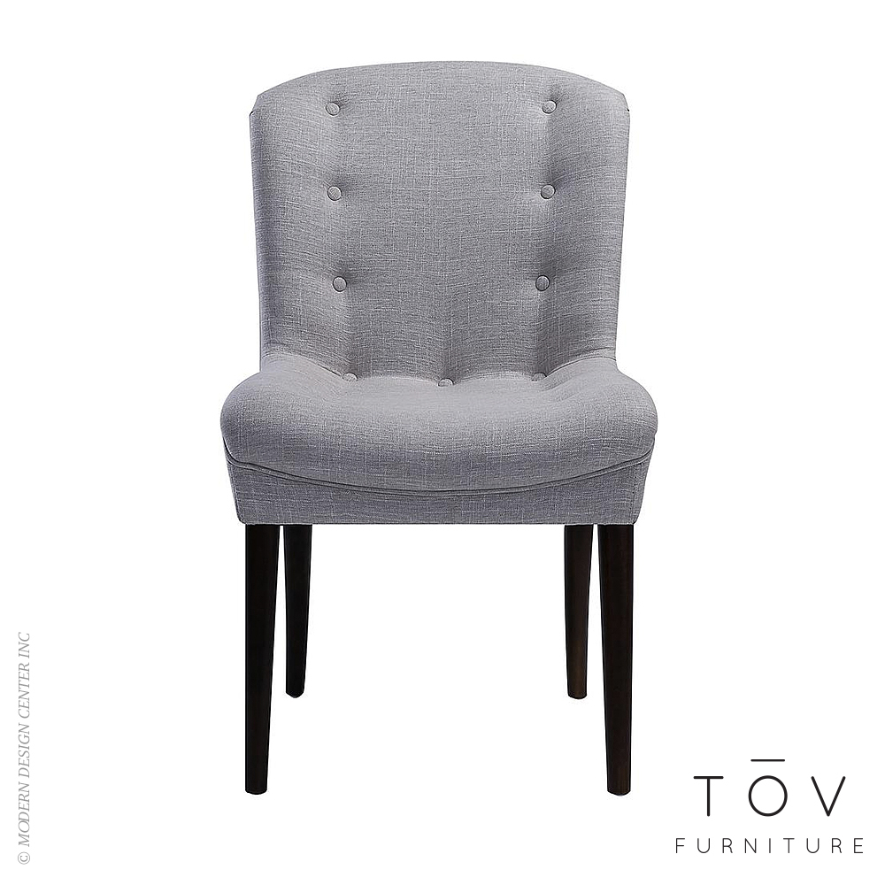 Victor Beige Linen Chair, Set of 2 | Tov Furniture