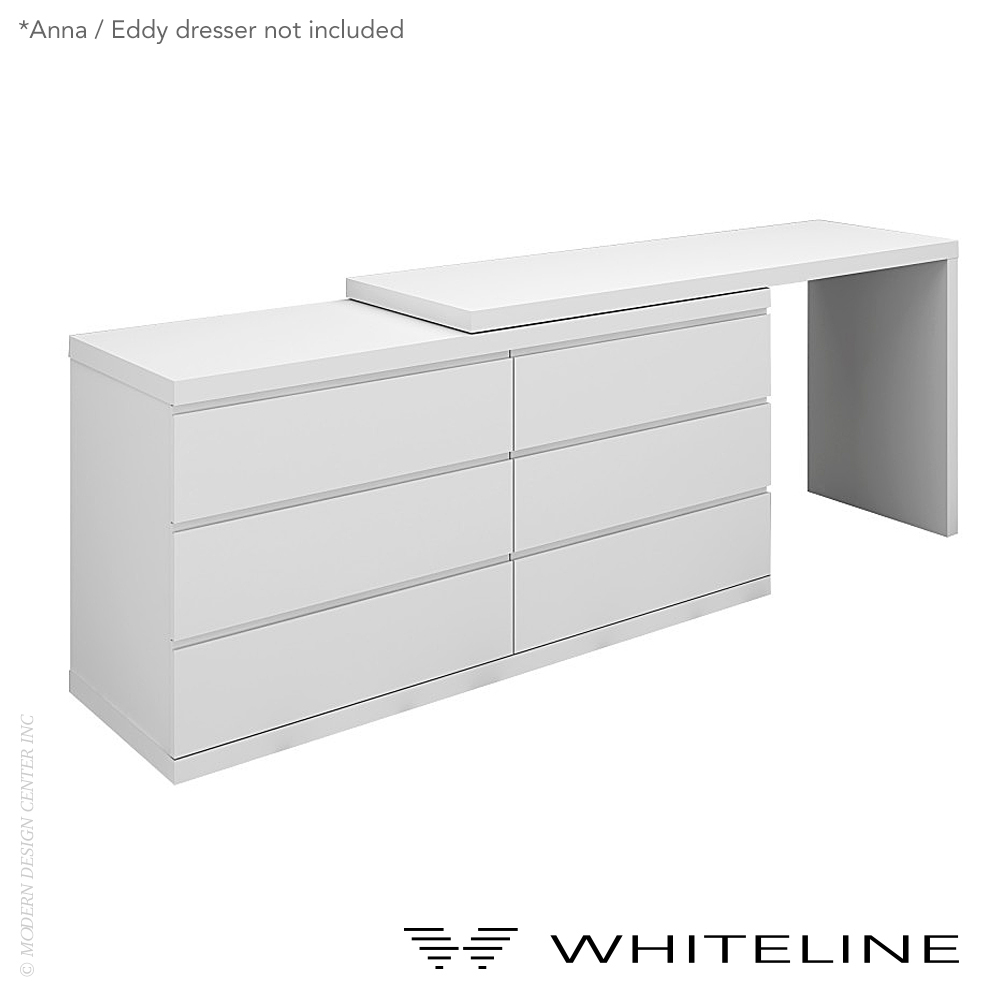 Anna/Eddy Dresser Extension | Whiteline