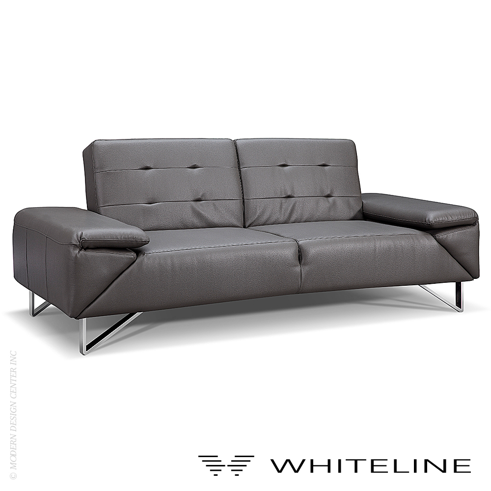 London sofa bed whiteline metropolitandecor for Home furniture london