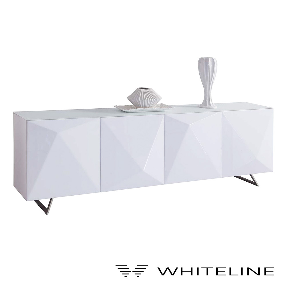 Samantha Buffet Table | Whiteline