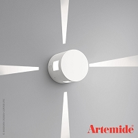 Effetto Round Wall 4 Narrow Beams Outdoor Light | Artemide