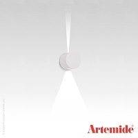 Effetto Round Wall 1 Large + 1 Narrow Beam Outdoor Light | Artemide