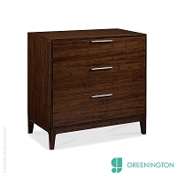 Mercury Three Drawer Chest | Greenington