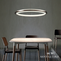 Nimba 90 LED Suspension Lamp | Santa & Cole