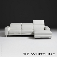 Augusto Italian Sectional | Whiteline