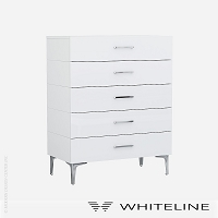 Diva Chest of Drawers | Whiteline