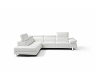 Livio Italian Sectional Sofa | Whiteline