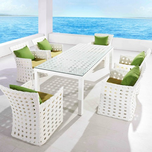 Orchard 6-Seat Patio Dining Set | Ceets