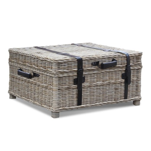 Woven Coffee Table Trunk Padma 39 S Plantation Metropolitandecor