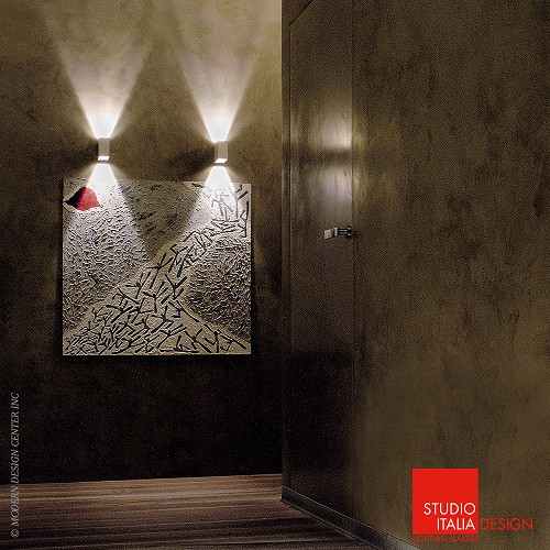 Wall Decoration Laser Lights : Laser led wall ap studio italia design metropolitandecor