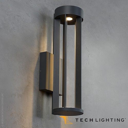 Turbo LED Outdoor Wall Sconce - Tech Lighting at MetropolitanDecor