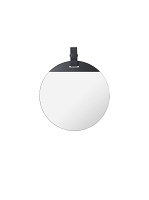 Enter Mirror Large Black | Ferm Living