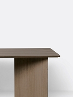 Mingle Table Top 160cm Black Stained | Ferm Living