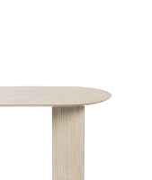 Mingle Table Top Oval 220cm Natural Oak | Ferm Living