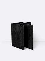 Mingle Table Legs Wood W68 Black Veneer | Ferm Living