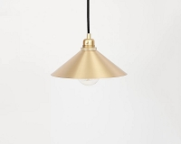 Cone Brass Pendant Light| Frama