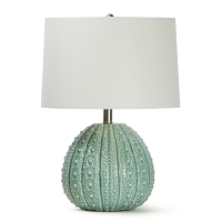 Sanibel Ceramic Table Lamp in Sea Foam