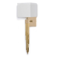 Tower Sconce in Polished Brass