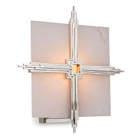 Gotham Sconce in Polished Nickel