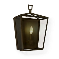 Camden Lantern Sconce in Oil Rubbed Bronze