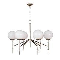 Bodie Chandelier in Polished Nickel