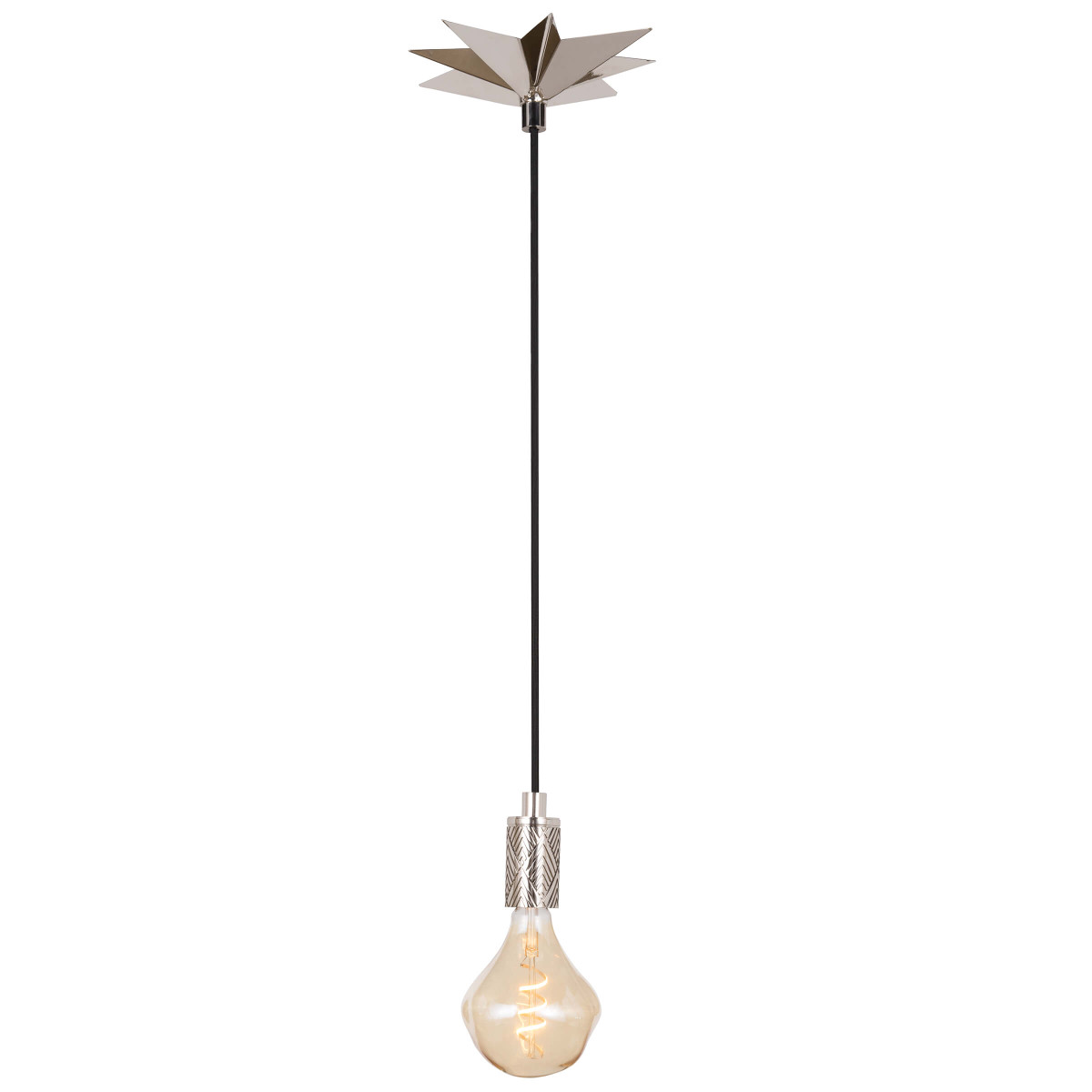 Hudson Pendant Polished Nickel | Regina Andrew