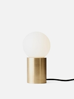 Socket Occasional Table Lamp Brass