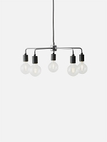 Leonard Chandelier Brushed Steel