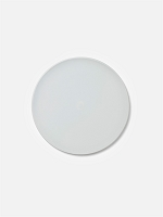 New Norm Plate/lid White 7 in