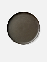 New Norm Plate/Dish Dark Glazed 10.6 in