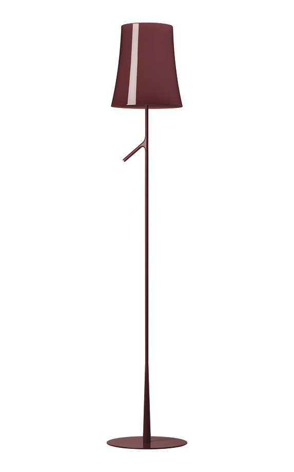 Birdie LED Lettura with Touch Dimmer Floor Lamp| Foscarini