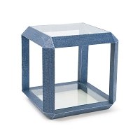 Aegean Side Table in Indigo