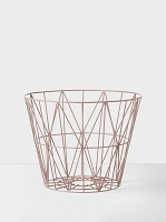 Wire Basket Rose Small | Ferm Living