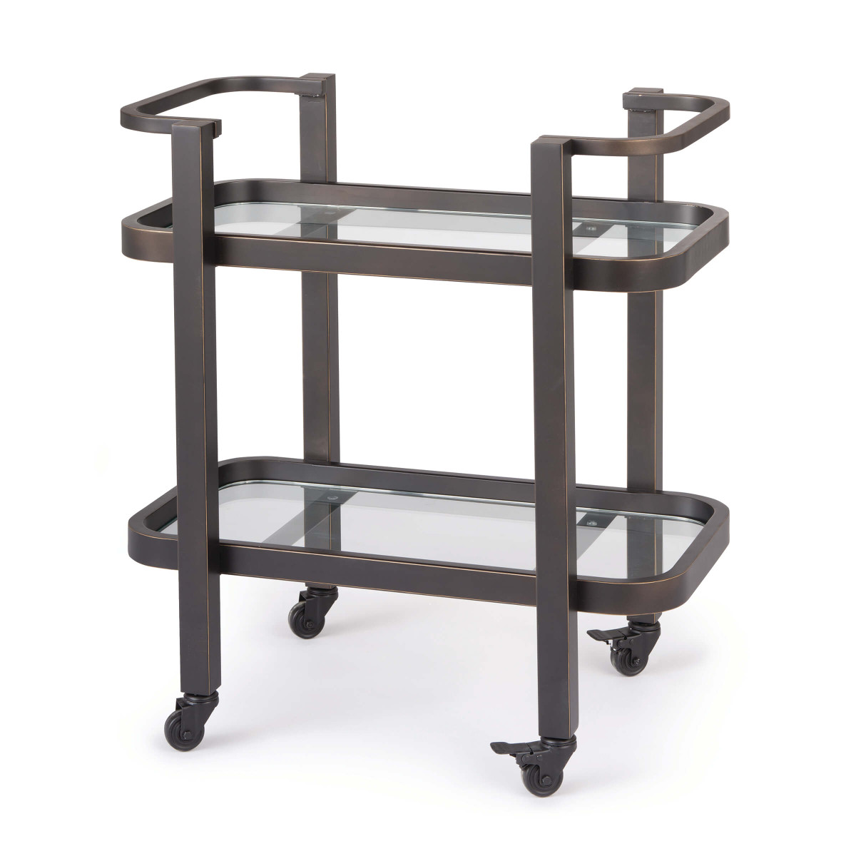 Carter Bar Cart Small in Oil Rubbed Bronze