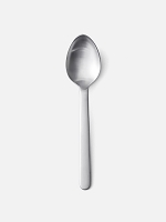 New Norm Tea Spoon Brushed Steel