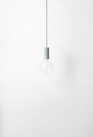 Socket Pendant Low Dusty Blue | Ferm Living