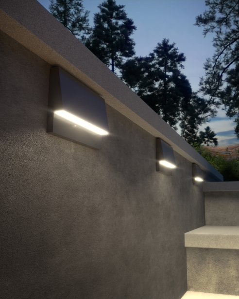 Krysen Outdoor Wall/Step Light | Tech Lighting