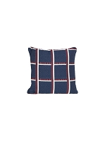 Salon Cushion Checked Blue 40x40 | Ferm Living